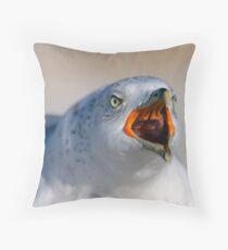 The Shrieker Throw Pillow