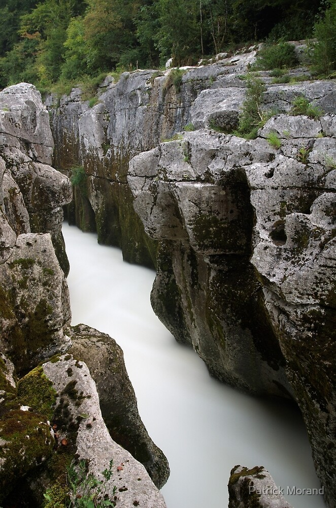 Water in the rocks by Patrick Morand
