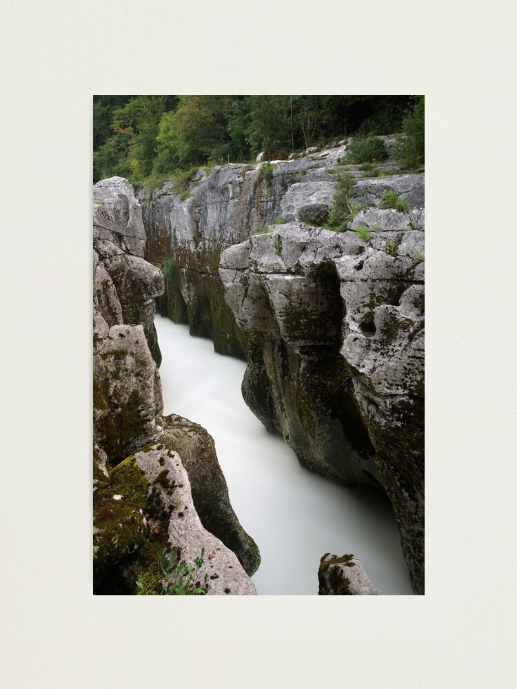 Alternate view of Water in the rocks Photographic Print