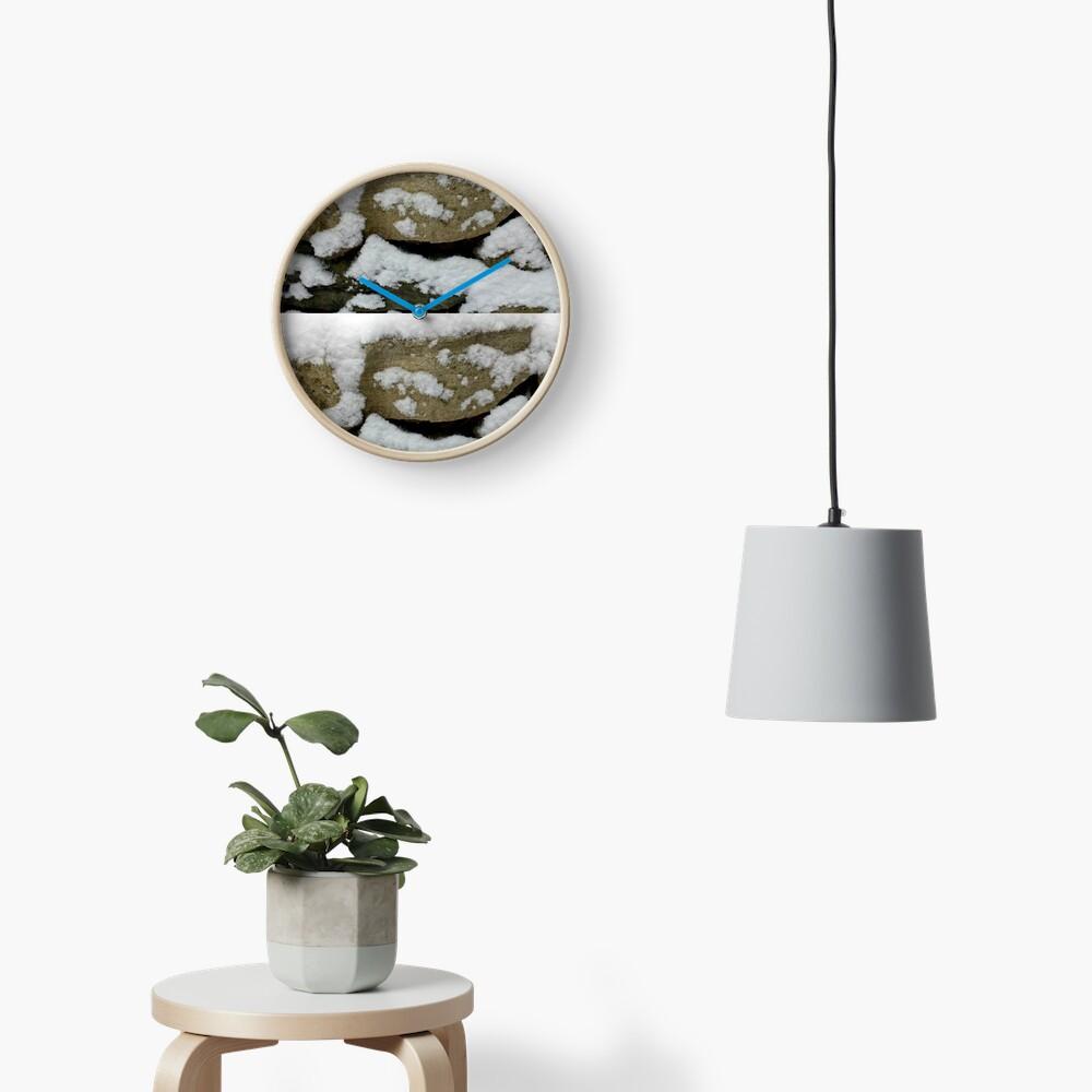 Snow design Clock