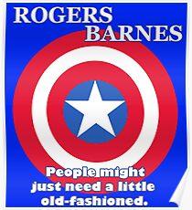 Cap for President (Barnes Running Mate) Poster
