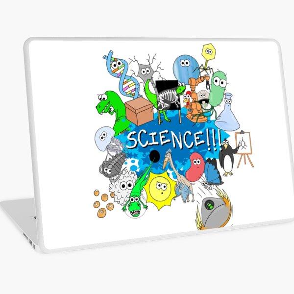 Cute Science Explosion! Laptop Skin