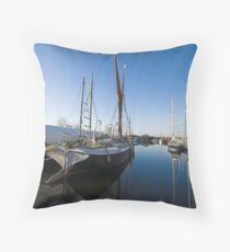 Heybridge Basin Essex Throw Pillow