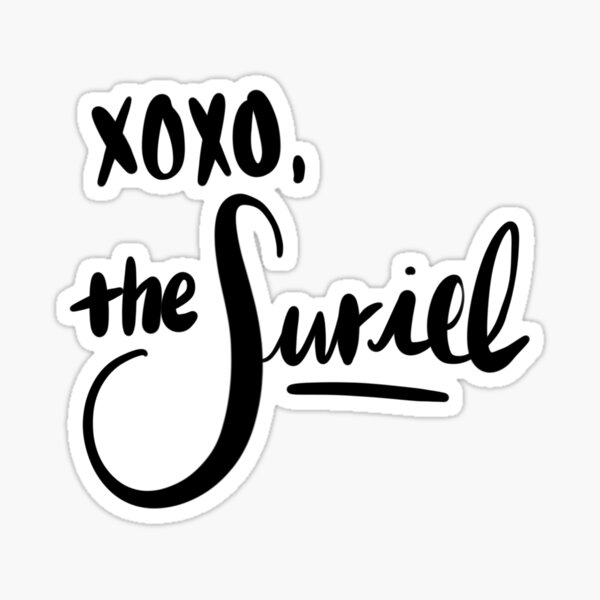 XOXO, the Suriel Sticker