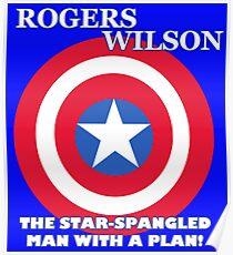 Cap for President (Wilson Running Mate) Poster
