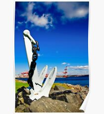 Anchored in Halifax Poster