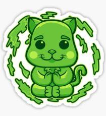 EARTH Cat Sticker