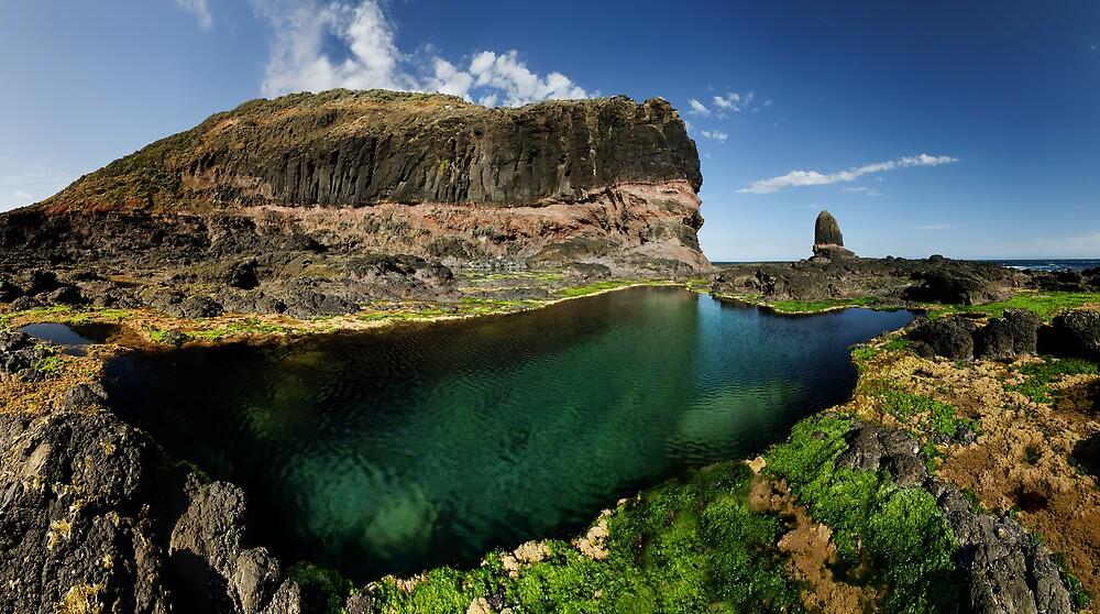 Schank Pool Panorama by Robert Mullner