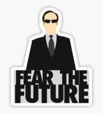 The Matrix - Agent Smith - Fear The Future Sticker