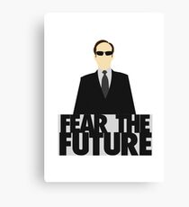 The Matrix - Agent Smith - Fear The Future Canvas Print