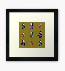Stacking Dolls Framed Print