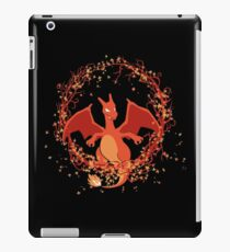 Charizard dragon de fuego Pokemon iPad Case/Skin