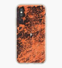Climber in The Red Rock Canyon National Conservation Area. NV iPhone Case