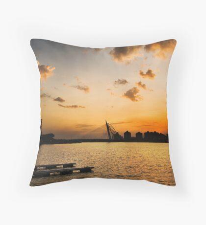 Beautiful Dusk @ Putrajaya Throw Pillow