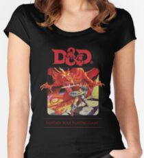 Dungeons & Dragons (color revision) Women's Fitted Scoop T-Shirt