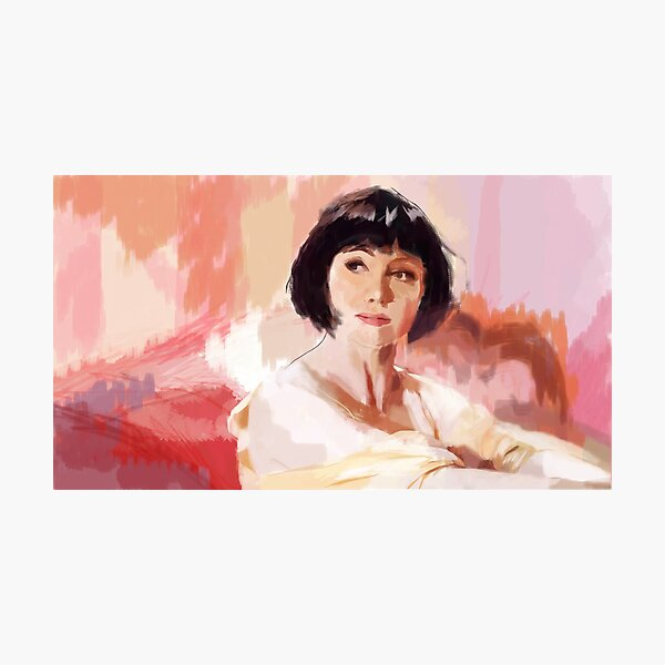 A Good Morning with Phryne Fisher Photographic Print