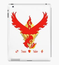 Team Valor - Pokemon Go [Light bkgd] iPad Case/Skin