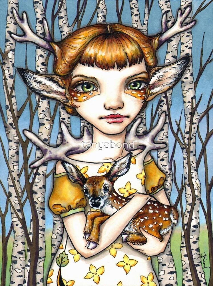 Deer Dorothy by tanyabond