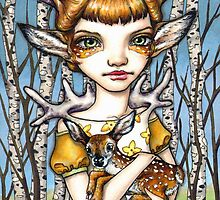 Deer Dorothy by tanyabond