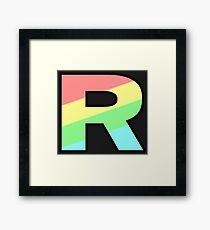 Team Rainbow Rocket Framed Print