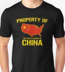 Property of China Unisex T-Shirt