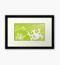 Retro Games: Frogger Framed Print