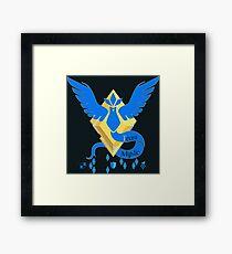 Team Mystic - Pokemon Go [Dark bkgd] Framed Print