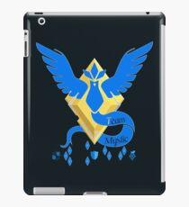 Team Mystic - Pokemon Go [Dark bkgd] iPad Case/Skin