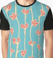 Sky garden botanical pattern Graphic T-Shirt