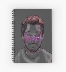 Space Freckles - Cancer Markiplier Spiral Notebook