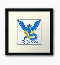 Team Mystic - Pokemon Go [Light bkgd] Framed Print