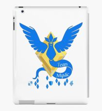 Team Mystic - Pokemon Go [Light bkgd] iPad Case/Skin