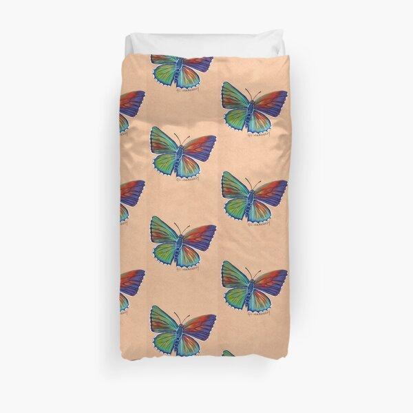 Bathurst Copper Butterfly Duvet Cover