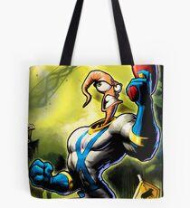 Earthworm Jim! Tote Bag