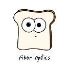 Fiber Optics - A science pun by Adrienne Body