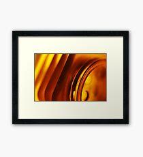 Abstract Macro #79 Framed Print