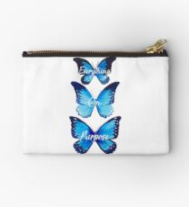 Everything On Purpose Butterfly Design Zipper Pouch
