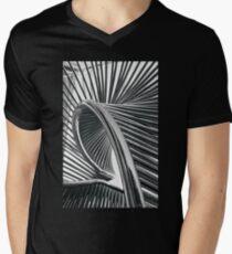 Spiral Steel Men's V-Neck T-Shirt