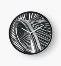 Spiral Steel Clock
