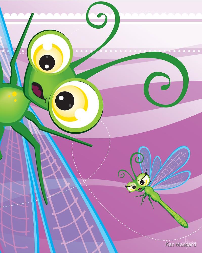 Critterz - Dragonfly 2 by Kat Massard