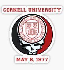 Grateful Dead Cornell University May 1977 Show Shirt Sticker