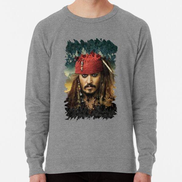 Captain Jack Sparrow - Pirates of the Caribbean Lightweight Sweatshirt