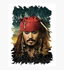 Captain Jack Sparrow - Pirates of the Caribbean Photographic Print