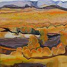 Finke River at Twilight by Lyn Fabian