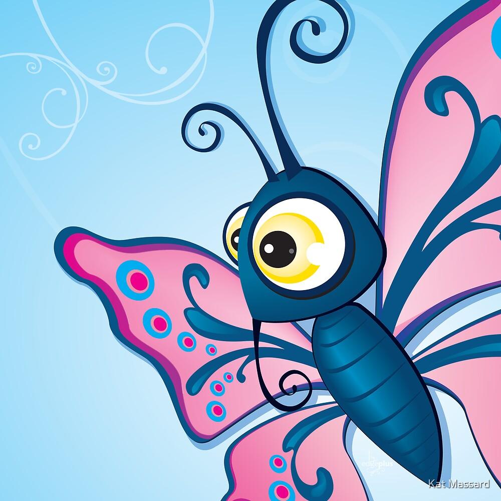 Critterz - Butterfly2 by Kat Massard