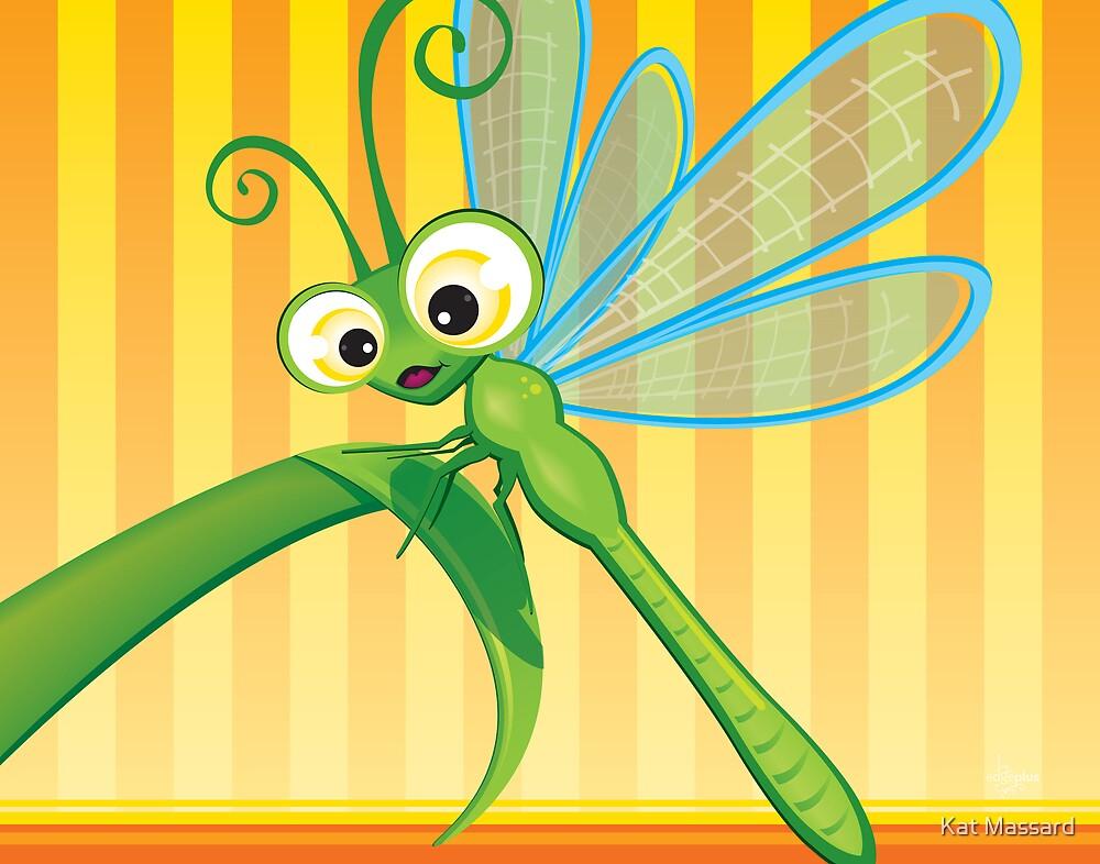 Critterz - Dragonfly 1 by Kat Massard