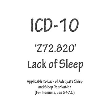 ICD-10:  Z72.820  Lack of Sleep by Shutterbug-csg