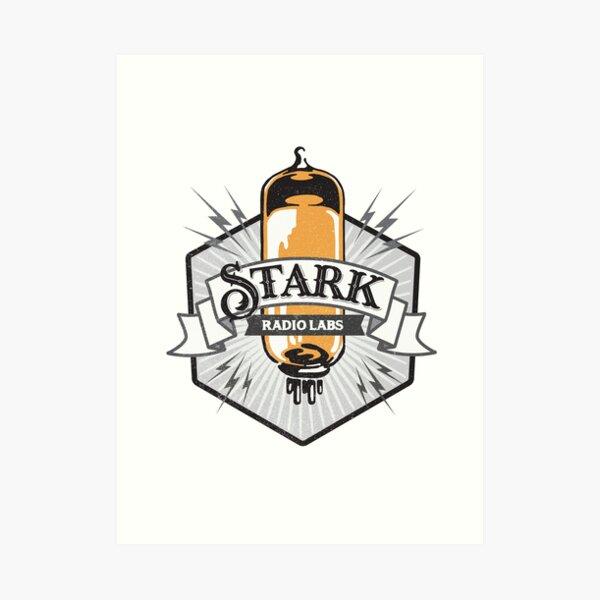 Stark Industries throwback logo Art Print