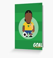 Ronaldinho Greeting Card