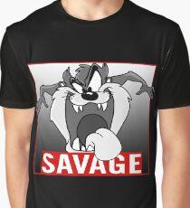 The Tasmanian Devil - Savage Graphic T-Shirt